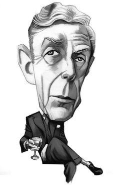 Portraits - Caricatures II by Fernando Vicente, via Behance