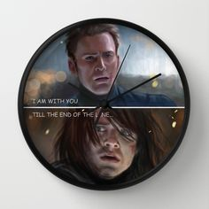 Now I want THIS!!! XDDDD, End of the line Wall Clock http://society6.com/unicatstudio/end-of-the-line-shr_wall-clock#33=284&34=286