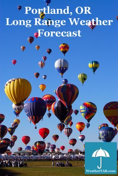 #Portland #OR Long Range #Weather Forecast available for planning your next #trip #vacation #event