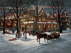 Victorian Christmas by H. Hargrove