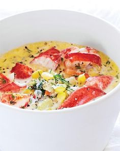 Corn  Lobster Chowder