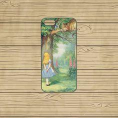 iphone 5C case,iphone 5S case,iphone 5S cases,iphone 5C cover,cute iphone 5S case,cool iphone 5S case,5C case,Alice in Wonderland,in plastic  by Missyoucase, $14.95