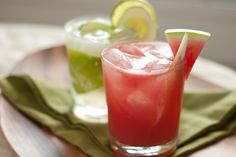 Hot summer days call for refreshing cucumber cocktails. This post features recipes for beautiful watermelon cucumber coolers and cucumber caipiranhas.