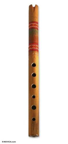 Quena Flute Wind Instrument Sculpture