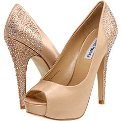 A little nude heel with some sparkle!
