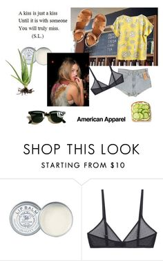 """stay weird"" by cecidongo ❤ liked on Polyvore featuring Jack Wills, Levi's, Alöe, American Apparel, Bodas, A.P.C. and Ray-Ban"