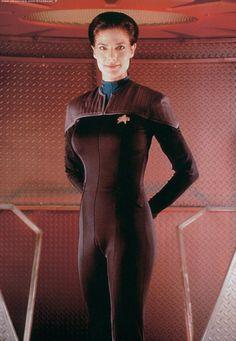 Jadzia Dax ( Terry Farrell ) Star Trek Deep Space Nine, Trill