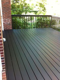 slate behr deck stain solid - for railings