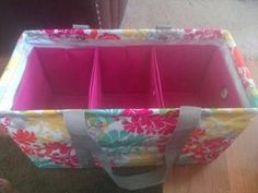Thirty one large utility tote with three fold n files inside by Marlene Julius
