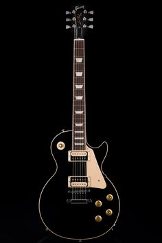 Guitar Center: Platinum : Gibson Les Paul Traditional Pro II 60's Neck in Ebony (P)