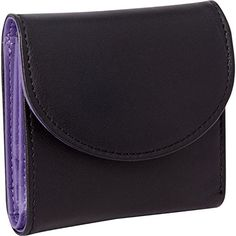 Royce Leather RFID Blocking Ladies Wallet One Size Purple... I love this wallet - I got it both for the RFID protection and also because I needed a smaller wallet. Mine was too big for my very small purse and it drove me crazy trying to force it inside. I dithered forever reading all the reviews and then chose this one.  It's perfect!  Very small - fits beautifully in the smallest of purses. Has room for multiple credit cards/library cards, etc., plus room for your ID, change and bills. It…