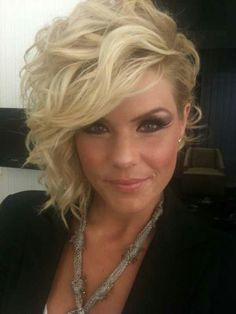 Kimberly Caldwell hair♥