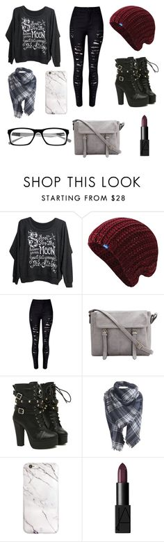 """Untitled #64"" by heythereitsola ❤ liked on Polyvore featuring Mad Love, Keds and NARS Cosmetics"