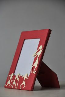 Past Imaginations: Warli photo frames