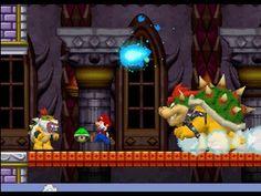 New Super Mario Bros. (DS) 100% Walkthrough - World 8 / Final Boss (All Star Coins & Secret Exits)