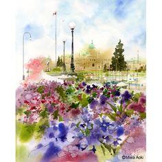 花の街 - カナダ・ビクトリア