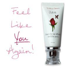 Formulated by Dr. Anna Cabeca, Julva restores, repairs and rejuvenates your delicate, feminine bits