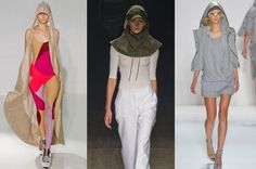 New York Fashion Week, PE 2013. Cappuccio:    ThreeAsFour, Yigal Azrouel, Nicholas K sfilata primavera-estate 2013