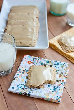 Homemade Maple Cinnamon pop tarts.