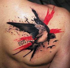 nice 20 Beautiful and Meaningful Swallow Tattoos