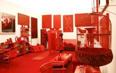 Cildo Meireles  'Desvio para o vermelho'  1984