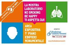 La mostra laboratorio No Smoking Be Happy al Museo della Scienza di Milano - Fondazione Umberto Veronesi