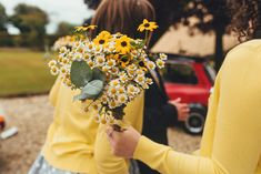 Daisy Bouquets and Tipis for a Colourful Summer Tipi Wedding | Love My Dress® UK Wedding Blog