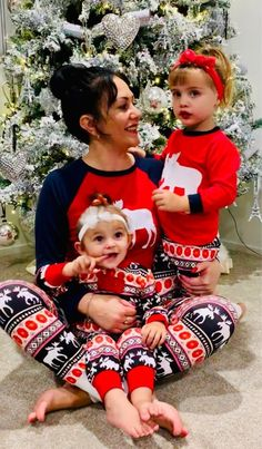 af32a641a9 Family Christmas Pajamas Set Dropship Matching Family Outfits Warm Adult  Kids Girls Boy Mommy Sleepwear Mother Daughter Clothes