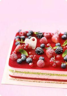 Verdade de sabor: Торт с лесными ягодами / Torta de frutos silvestres