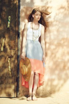 Summer colorblocking!