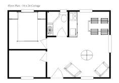20 X 24 Cabin Floor Plans Slyfelinos Com