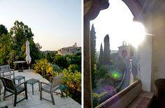 Lou Miedjou – St Paul de Vence, France (love the window view)