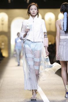 Fendi Ready To Wear Spring Summer 2015 Milan