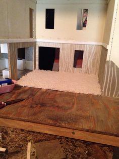 living carpet dollhouse