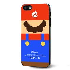 game mario nintendo parody Samsung Galaxy S3 S4 S5 Case Samsung Galaxy Note 3 Case iPhone 4 4S 5 5S 5C Case Ipod Touch 4 5 Case