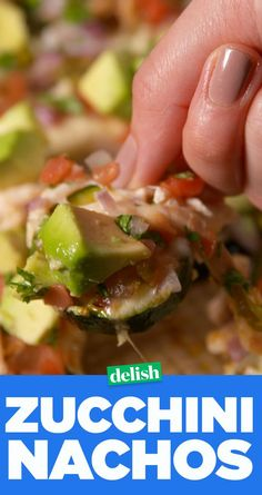 Zucchini Nachos are perfect whether youre on a low-carb diet or not. Keto Foods, High Carb Foods, Low Carb Diet, Paleo Recipes, Mexican Food Recipes, Low Carb Recipes, Cooking Recipes, Skillet Recipes, Cooking Tools