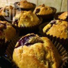 Recipe photo: Spelt Blueberry Muffins