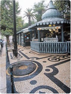 Avenida da Liberdade, Lisboa, #Portugal Portugal Country, France Portugal, Kiosk, Sea Activities, Western World, Sunny Beach, Atlantic Ocean, Pavement, Portuguese