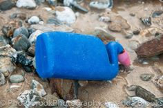 Rubbish washed up on Watergate Bay