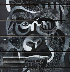 Le Street Art à la craie de Philippe Baudelocque