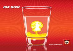 Energie-Brausepulver, Energydrink aus dem Pulvertütchen (Energie zum Mixnehmen)