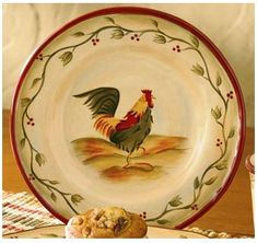 Rooster Themed Dinnerware   Featuring A Wide Selection Of Rooster Dinnerware  And Rooster Themed .