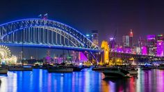 Vivid Sydney is an 18-day festival of light, music and ideas that takes place in late spring each year.   Vivid Light transforms Sydney into a wonderland of 'light art' sculptures, innovative light installations and grand-scale projections for all to enjoy - for free.