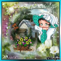 einen schönen Tag für Dich mit Betty Boop