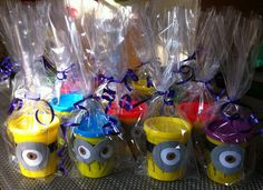 Despicable two play dough #birthdayparty #craft #minions
