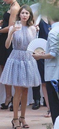 Sofia Coppola (non-traditional lilac wedding dress)
