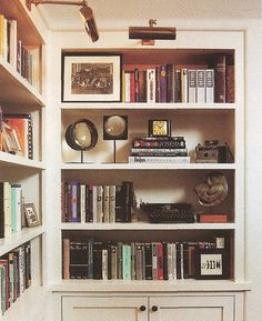 Another example for the built in by the front door. But with a picture light above with shelves and a bottom cabinet.