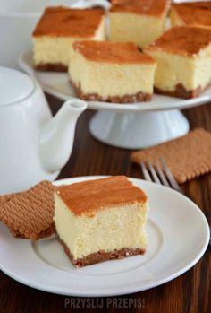 Polish Desserts, Polish Recipes, Polish Cake Recipe, Baking Recipes, Cake Recipes, Sandwich Cake, Something Sweet, Nutella, Biscotti