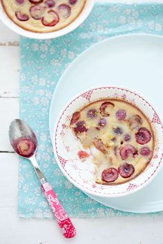 The Season of Cherries: Cherry and Cardamom Custard :: Cannelle et ...