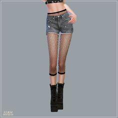 Mesh Stockings Set at Marigold • Sims 4 Updates